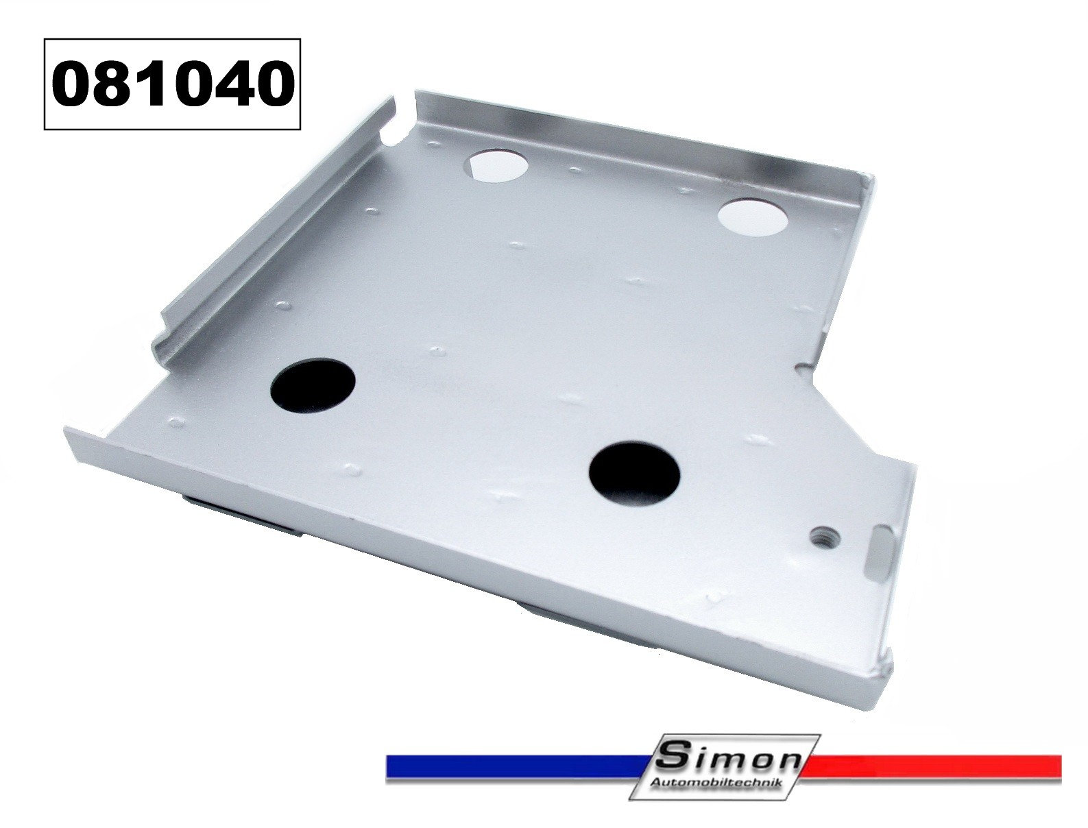 Mounting plate for battery stainless steel Alpine V6-GT-Turbo (D500/1/2)
